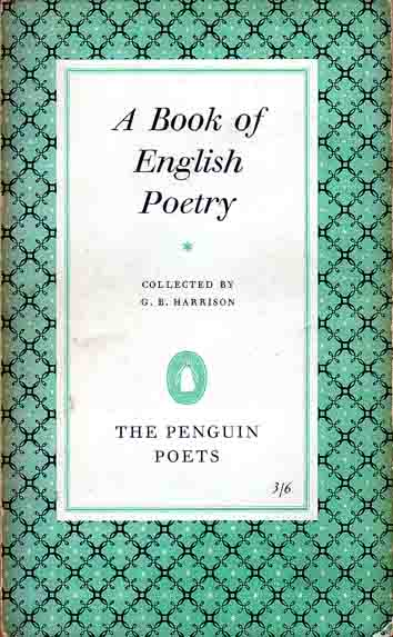 A book of English poetry. C...