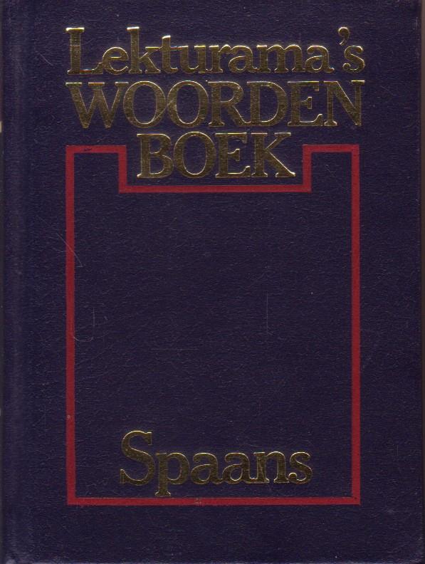 Lekturama`s woordenboek Spa...