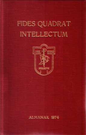 auteur niet vermeld - Almanak 1974 van het corpus studiosorum in academia Campensi Fides Quadrat Intellectum